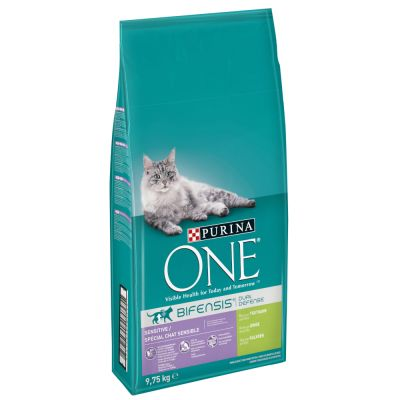 Purina ONE Sensitive Turkey & Rice Dry Cat Food