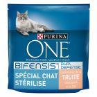 Purina ONE Spécial Chat Stérilisé à la truite