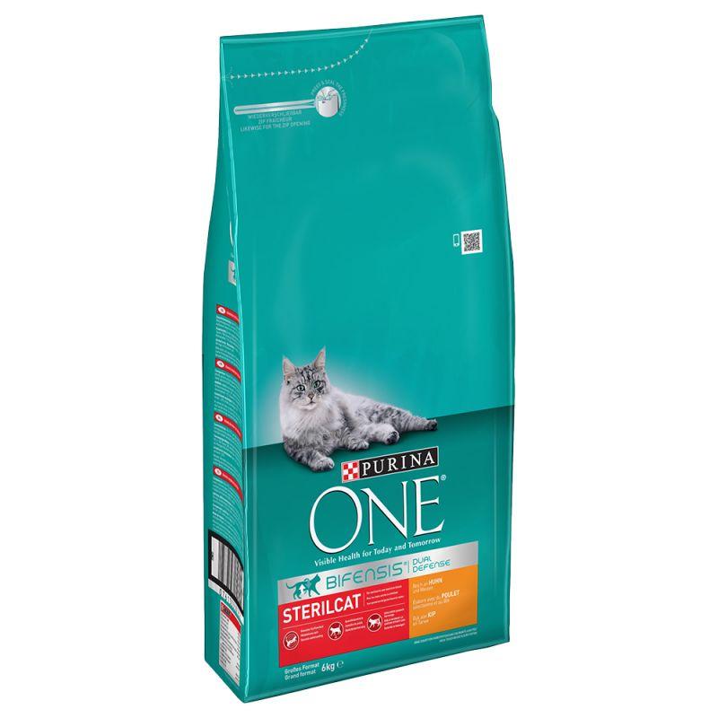 Purina ONE Sterilcat Chicken Dry Cat Food
