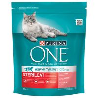 Purina ONE Sterilcat Salmon & Wheat Dry Cat Food