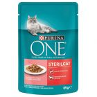 Purina ONE Sterilised mit Lachs & Karotten