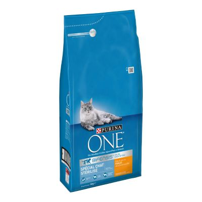 Purina ONE Sterilized Kip Kattenvoer
