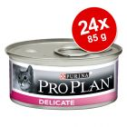 Purina PRO PLAN Cat Delicate 24 x 85 g