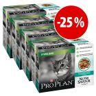 Purina Pro Plan comida húmida 40/48 x 85 g com grande desconto!