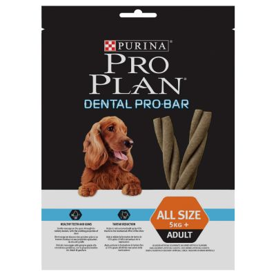 Purina Pro Plan Dental Pro Bar snacks dentales