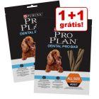 Purina Pro Plan Dental Pro Bar snacks 2 x 150 g em promoção: 1 + 1 grátis!