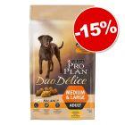 PURINA PRO PLAN Duo Délice Adult 10 kg pour chien : 15 % de remise !