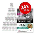 Purina Pro Plan en sobres 24 x 85 g - Pack Ahorro