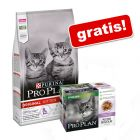 Purina Pro Plan, 10 kg + Purina Pro Plan Nutrisavour Sterilised, indyk, 10 x 85 g gratis!