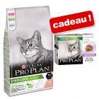 PURINA PRO PLAN 10 kg + 10 sachets Nutrisavour Sterilised dinde offerts !