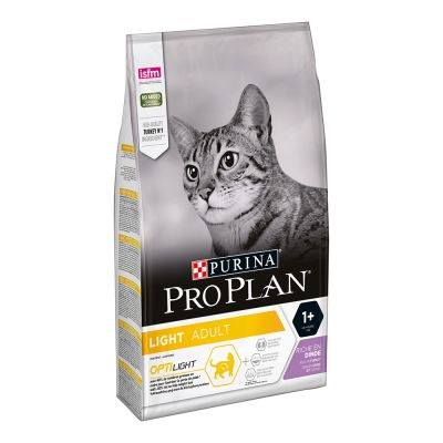 Purina Pro Plan Light Adult rico en pavo para gatos