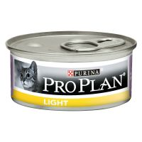 Purina Pro Plan Light 24 x 85 g en latas