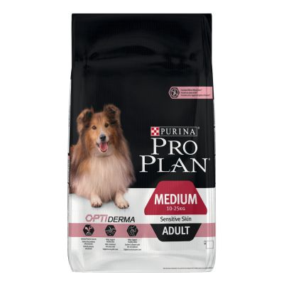 PURINA PRO PLAN Medium Adult Sensitive Skin saumon