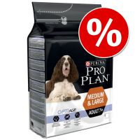 Purina Pro Plan Medium & Large Adult 7+ OptiAge pollo ¡con descuento!