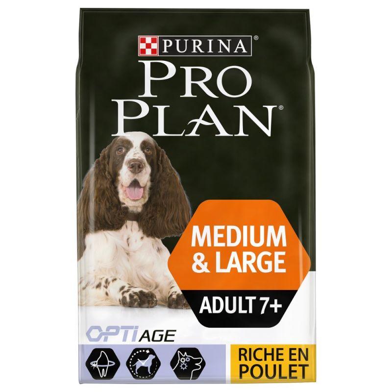 PURINA PRO PLAN Medium & Large Adult 7+ poulet