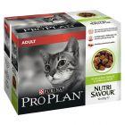 Purina Pro Plan NutriSavour Adult 10 x 85 g em saquetas