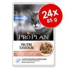 Purina Pro Plan Nutrisavour Housecat 24 x 85 g