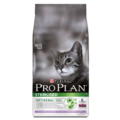 Purina Pro Plan Sterilised Cat Optirenal - Rich in Turkey