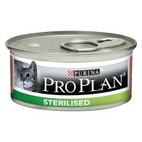 PURINA PRO PLAN Sterilised thon, saumon pour chat