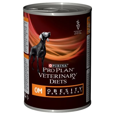 Purina Pro Plan Veterinary Diets Canine Mousse  OM Obesity
