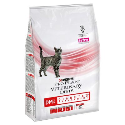 PURINA PRO PLAN Veterinary Diets DM St/Ox Diabetes Management pour chat