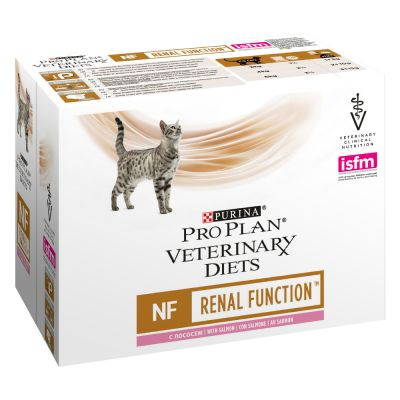 PURINA PRO PLAN Veterinary Diets Feline NF ST/OX Renal Function, saumon
