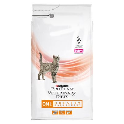 Purina Pro Plan Veterinary Diets Feline OM ST/OX - Obesity Management
