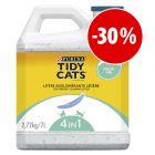 Purina Tidy Cats arena aglomerante ¡a precio especial!