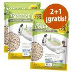 Purina Tidy Cats Breeze arena y empapadores en oferta: 2 + 1 ¡gratis!