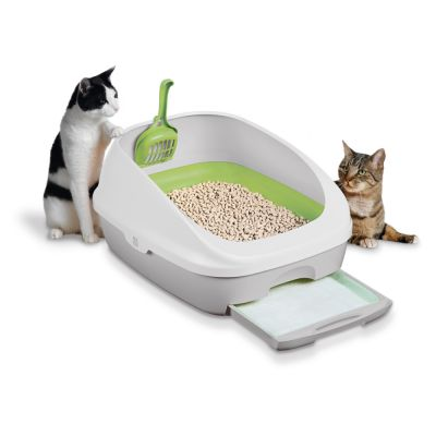 Purina Tidy Cats Breeze komplet z kuwetą i żwirkiem