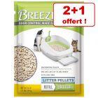 PURINA Tidy Cats Breeze litière ou alèses : 2 + 1 paquet offert !