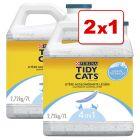 Purina Tidy Cats 7 / 20 l arena aglomerante en oferta: 1 + 1 ¡gratis!