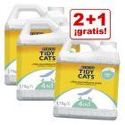 Purina Tidy Cats 7 / 20 l arena aglomerante en oferta: 2 + 1 ¡gratis!