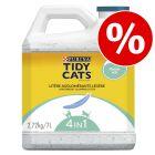 Purina Tidy Cats Lightweight -kissanhiekka -50 % alennuksella!