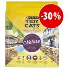 Purina Tidy Cats Nature Classic areia aglomerante 10 l com grande desconto!