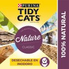 Purina Tidy Cats Nature Classic arena aglomerante para gatos
