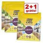 Purina Tidy Cats Nature Classic 10 l/30 l em promoção: 2 + 1 grátis!
