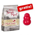 Purizon Single Meat, bez zbóż, 3 kg + KONG Classic, czerwony, M gratis!