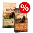 Смесена пробна опаковка: 2 х 400г Purizon Суха храна за котки