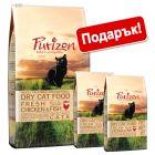 6,5 кг суха храна за котки Purizon + 800 г подарък!