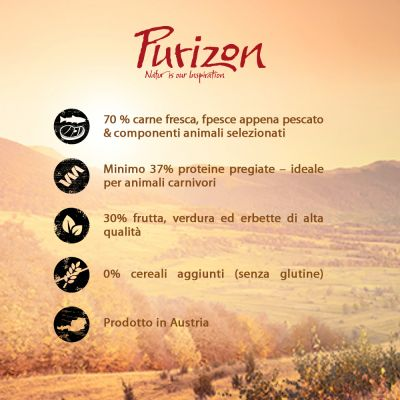 Purizon Adult Black Angus & Tacchino - senza cereali