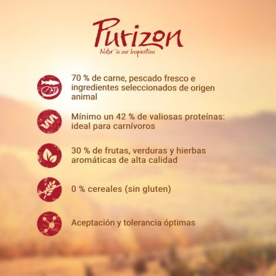 Purizon Adult con ciervo y pescado