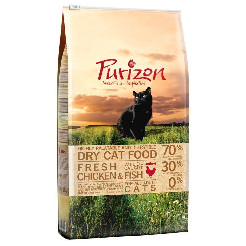 Purizon Adult dla kota, kurczak i ryba – bez zbóż