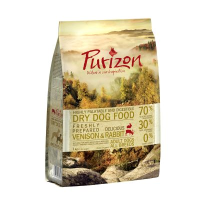 Purizon Adult Dog - Grain-Free Venison & Rabbit