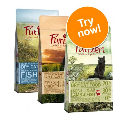 Purizon Adult Dry Cat Food Mixed Trial Pack