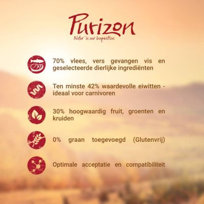 Purizon Adult Eend & Vis Kattenvoer
