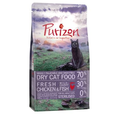 Purizon Adult Gatto Sterilised - Pollo & Pesce