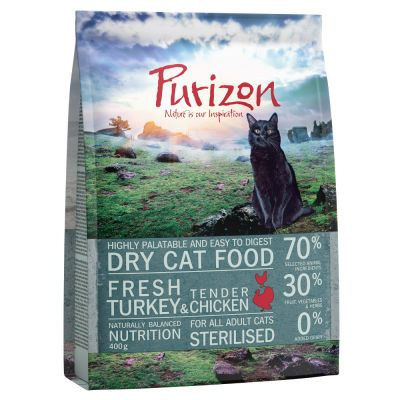 Purizon Adult Gatto Sterilised Tacchino & Pollo