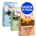 Purizon Adult sin cereales 3 x 1 kg - Pack de prueba mixto