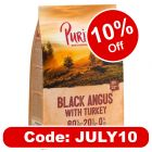 Purizon Black Angus Beef with Turkey Adult – Grain-free